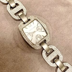 Michael Kors Crystal Chain Link Watch